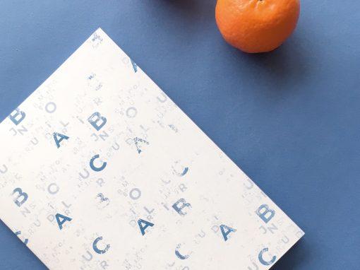 Carnet ABC Livre